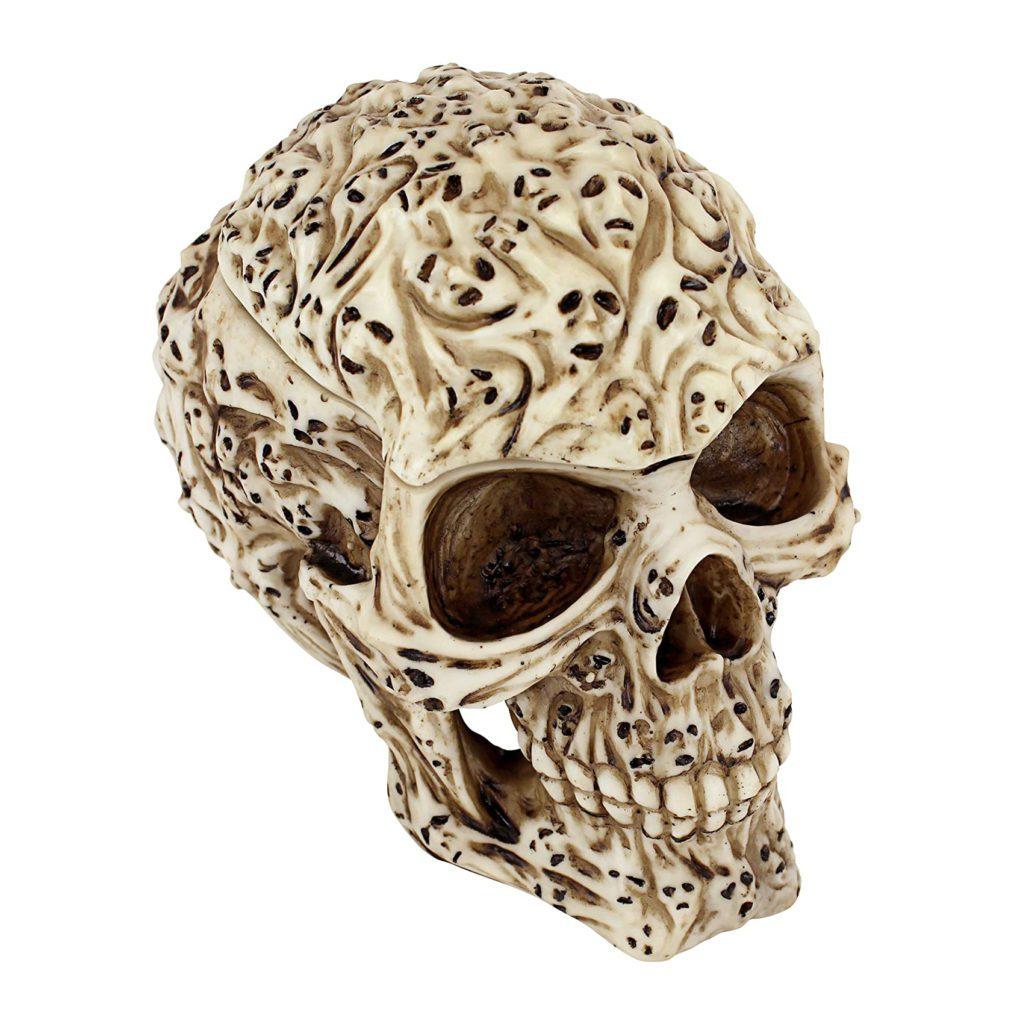 """7.5"""" Spirit Ghost Skull Stash Box"""
