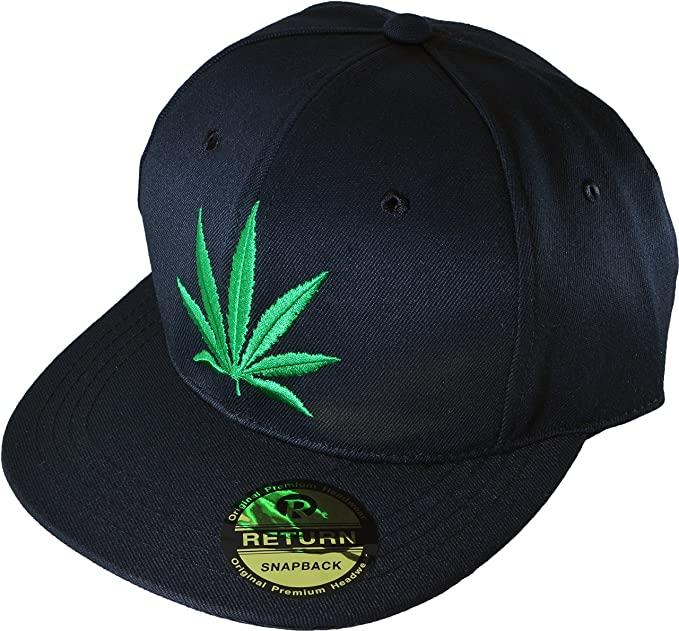 Marijuana Leaf Hat